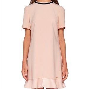 Ted Baker KITTAA ruffle shift dress